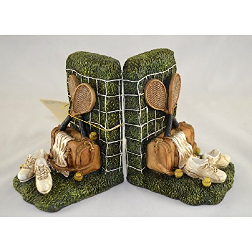 Decorative Antique Tennis Bookends Dividers Stands