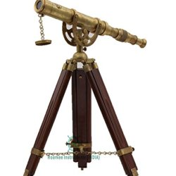 Roorkee Instruments India Vintage Antique Tripod Telescope
