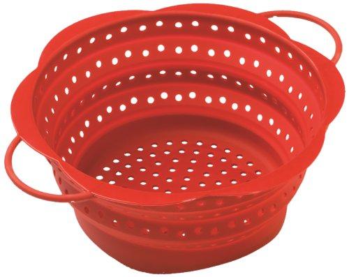 Kuhn Rikon Collapsible Colander, Large, Red