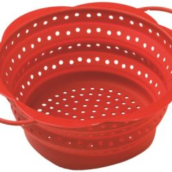 Kuhn Rikon Collapsible Colander, Large, Red