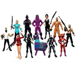 Ginkago 12pack Fortnight Game Action Figures Cartoon