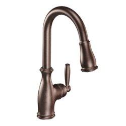 Moen Brantford One-Handle High Arc Pulldown Kitchen Faucet