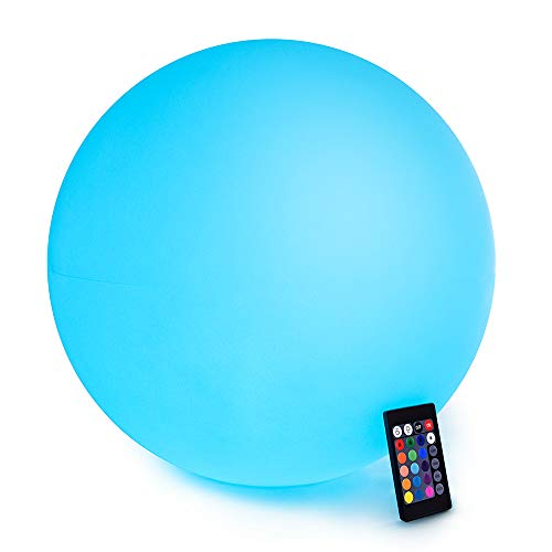 LOFTEK LED Light Ball : 16-inch Cordless Floating Pool Ball
