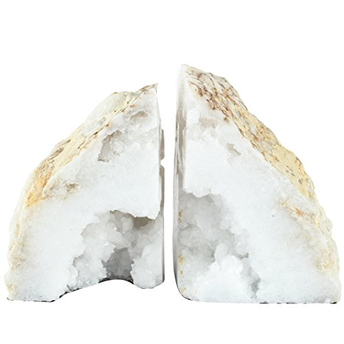 A&B Home Natural Geode Bookends Set of 2