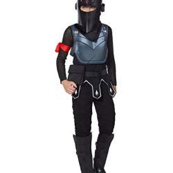 Spirit Halloween Kids Fortnite Black Knight Costume - M