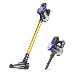 OUNUO Stick Vacuum Cleaner, Cordless 4 in 1 Vacuums