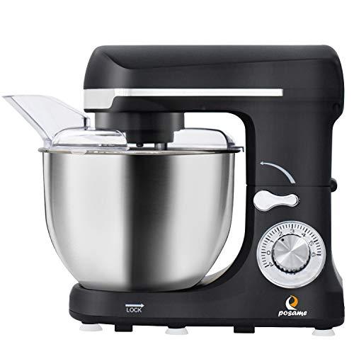 Stand Mixer,Posame Dough Mixer Cake/Bread Kneading Machine
