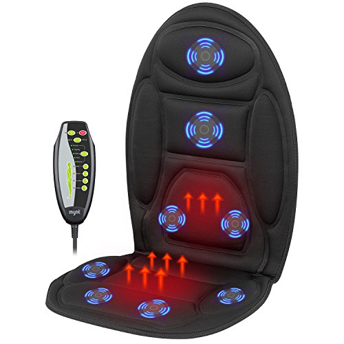 Mynt Vibrating Seat Massager with Heat