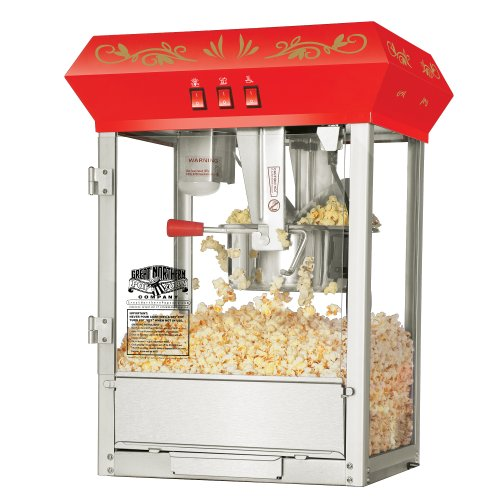 Great Northern Popcorn, Red, Countertop Foundation