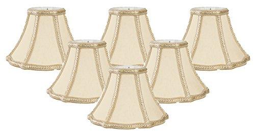 Royal Designs Decorative Trim True Bell Chandelier Lamp Shade