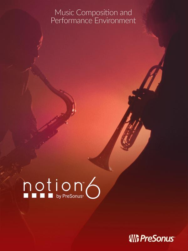 PreSonus Notion 6 Music Notation Software