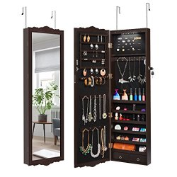 LANGRIA Full-Length Lockable Wall-Mounted Over