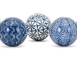 IMAX Barrett Spheres- 5 Assorted Patterns