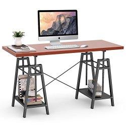 Tribesigns Height Adjustable Computer Desk