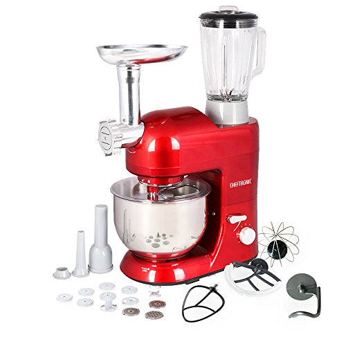 CHEFTRONIC 3 In 1 Upgraded Stand Mixer
