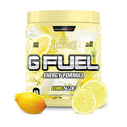 G Fuel Lemonade Tub Elite Energy and Endurance Formula
