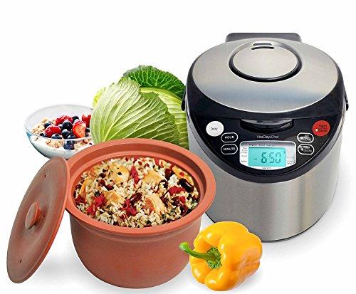 VitaClay Smart Organic Multi-Cooker- A Rice Cooker