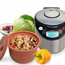 VitaClay Smart Organic Multi-Cooker- A Rice Cooker