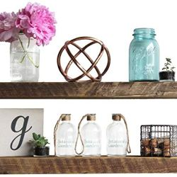 Urban Legacy Floating Shelves Made from Genuine Reclaimed Wood