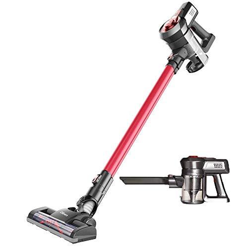Cordless Vacuum Cleaner, Dibea 2 in 1 Bristle Roller Brush