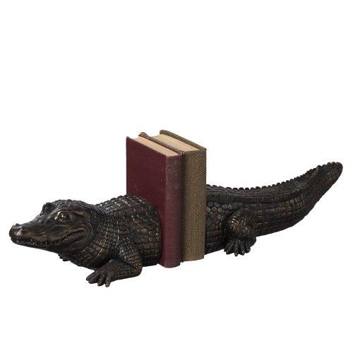 Midwest-CBK Alligator Bookend Pair