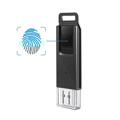 KOOTION Fingerprint Encrypted 64 GB Flash Drive