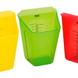 Kuhn Rikon Mise En Place Set, Red/Yellow/Green