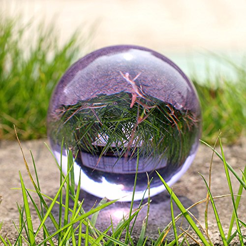 H&D Crystal Ball 100 mm Stand, Glass Ball Photography