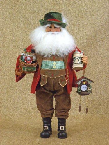 German Santa Claus Collectible Doll Figurine Karen Didion
