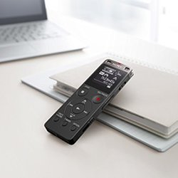 Sony Stereo Digital Voice Recorder with Built-in USB Sony ICDUX560BLK Stereo Digital Voice Recorder with Built-in USB.