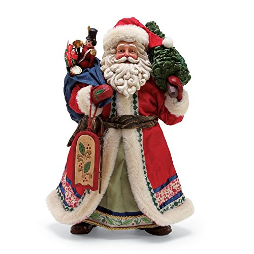 "Department 56 Jim Shore Limited Edition Santa, 12.5"" Figurine"