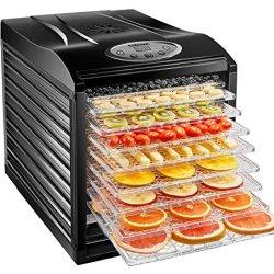 Chefman 9 Tray Food Dehydrator Machine Professional Electric