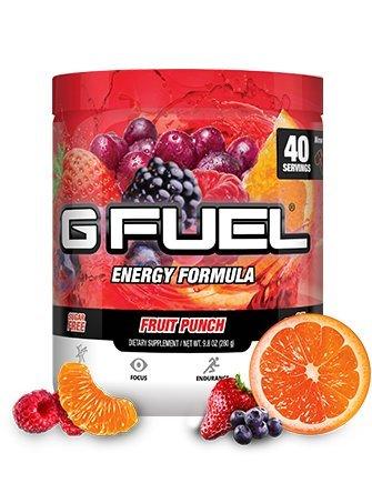 G Fuel Fruit Punch Tub Elite Energy and Endurance Formula