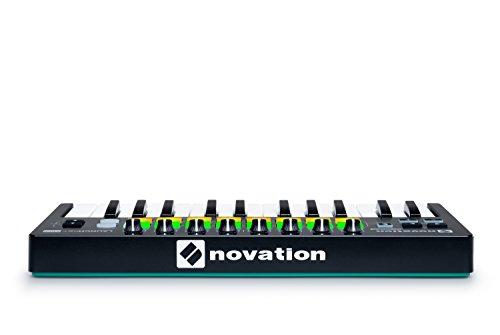 Novation Launchkey Mini 25-Note USB Keyboard Controller Novation Launchkey Mini 25-Note USB Keyboard Controller, MK2 Version.