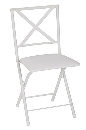COSCO X-Back Metal Folding Dining Chair