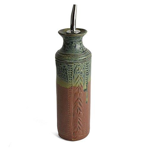 Holman Pottery Handmade Oil Bottle, Desert