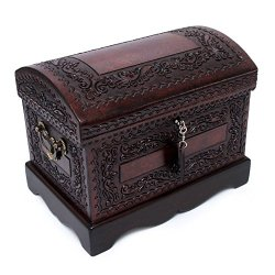 NOVICA Colonial Treasure' Mohena Wood and Leather