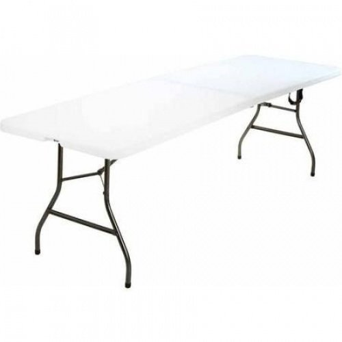 Cosco 8' Centerfold Table, White