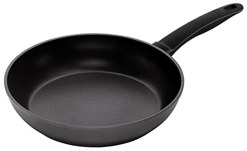 Kuhn Rikon Easy Induction Non-Stick Frying Pan, 12-Inch, Aluminum, Black