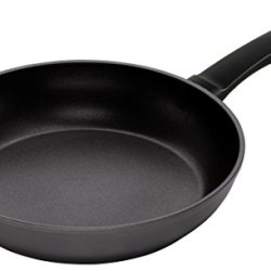 Kuhn Rikon Easy Induction Non-Stick Frying Pan, 12-Inch, Aluminum, Black