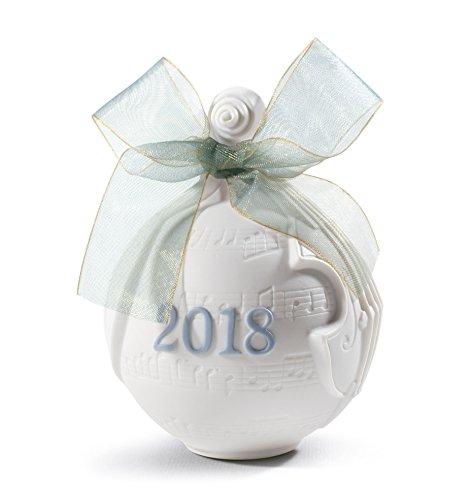 Lladro 2018 Ball Christmas Ornament