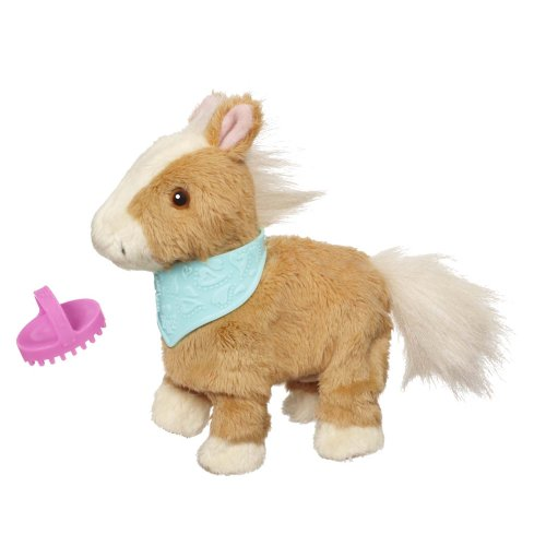 FurReal Friends Snuggimals Walkin` Ponies Shimmer Sky Pet