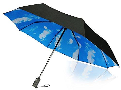Travel Umbrella - 65 MPH Windproof Lightweight