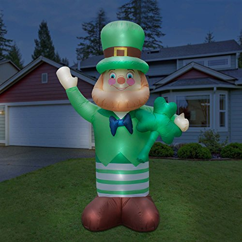 Holidayana St Patricks Day Inflatable Giant 10 Ft.