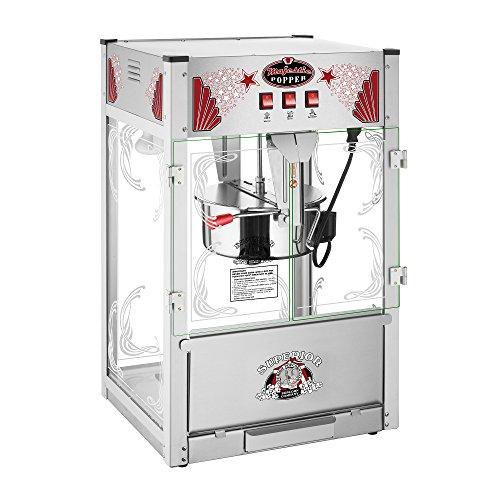 Majestic Popcorn Machine- Commercial Style Popcorn Popper Machine