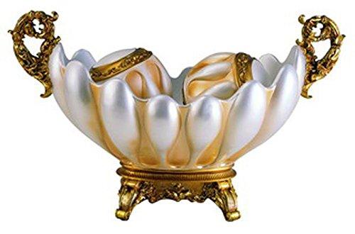 OK Lighting Mabe Decorative Fruit Bowl with Balls