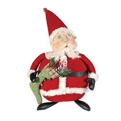 Gallerie II Gathered Traditions Albert Santa Collectible Figurine, Red