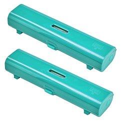 Kuhn Rikon Foil & Plastic Wrap Dispenser Set Of 2, Emerald