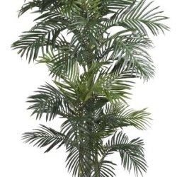 Nearly Natural Golden Cane Palm Silk Tree, 6.5-Feet, Green