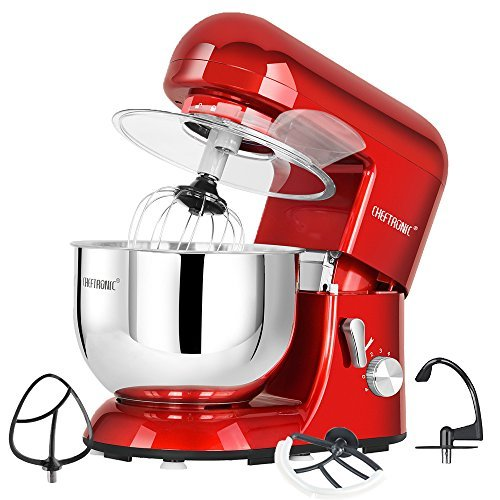 CHEFTRONIC Stand Mixer tilt-head 650W/120V Electric